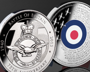 Free Battle of Britain Bronze Coin