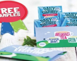 Free Daily Cultures Tea