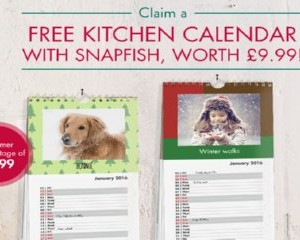 Free Kitchen Calendar